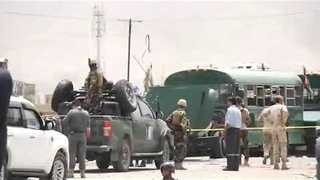Dozens Killed in Taliban Attack on Police Cadet Buses in Kabul - Video