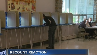 Wisconsin voters mixed on historic recount - Video