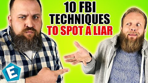 10 FBI techniques to spot a liar