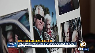 Program helping seniors live independently at home