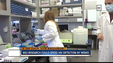 New research at Boise State could detect HIV weeks earlier than standard tests