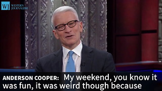 Anderson Cooper Says He's Muted Trump On Twitter - Video
