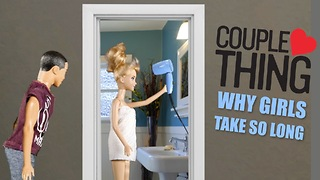 Difference Between Men and Women Getting Ready to Go Out| CoupleThing  - Video