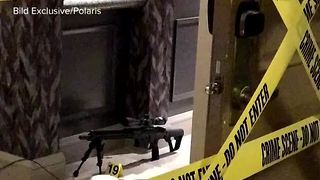 New audio recording from inside Mandalay Bay during mass shooting - Video