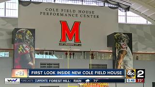 Inside New Cole Field House - Video