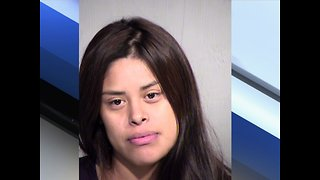 PD: Woman crashes into wall with child in lap - ABC 15 Crime - Video