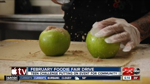 February Foodie Fair Drive: Teen Challenge putting on event for community