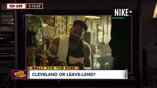 COMMENTARY: Leon Bibb on the King — Will LeBron stay in Cleveland? - Video
