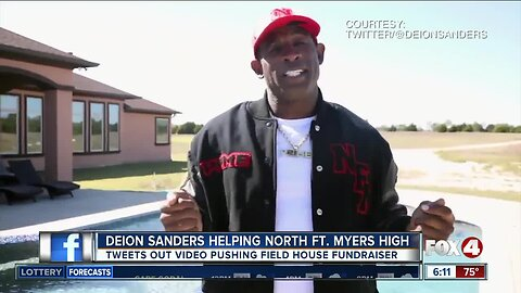 Deion Sanders helping to raise money for North Fort Myers High
