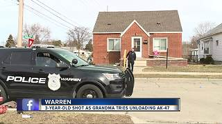 Grandmother accidentally shoots 3-year-old granddaughter in Warren - Video