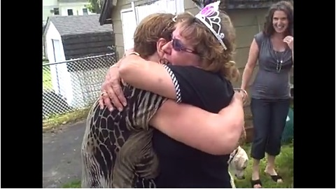 Woman Has The Best Time For Her 60th Birthday