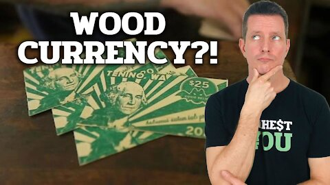 Currency Made from Wood DOES EXIST in 2020