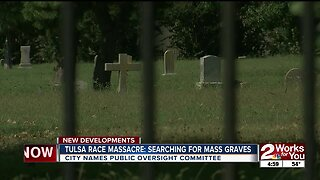 City of Tulsa to oversee search for graves of 1921 Race Massacre victims