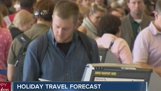 Holiday travel could set a record