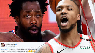 Damian Lillard TRASHES Patrick Beverly, Clippers After They CHOKED In Game 7 And Blew 3-1 Lead