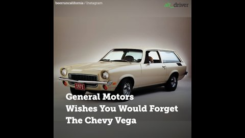 Chevy Vega: The Car That General Motors Wishes You Would Forget