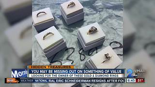 Are you missing gold and diamond rings? - Video