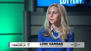 Excellence in Education Loni Vargas - Video