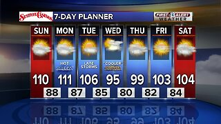13 First Alert Las Vegas Weather July 28 Morning