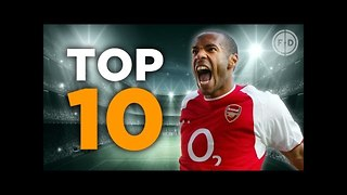 Top 10 Premier League Goalscorers - Video