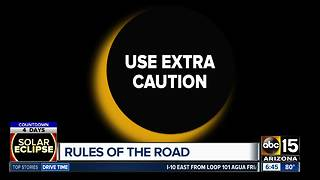 AAA: Driving during the eclipse dos and don'ts - Video