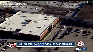 Police: Elderly man exposed himself to employee in Castleton Square Mall Sketchers store - Video