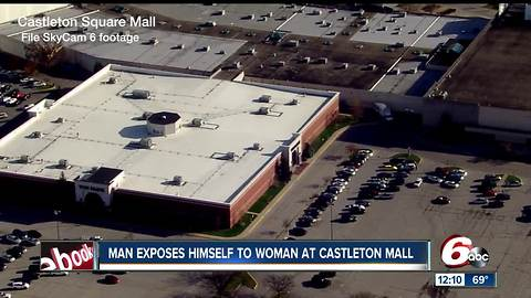 Police: Elderly man exposed himself to employee in Castleton Square Mall Sketchers store
