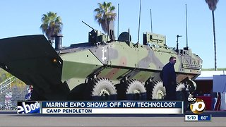 Marine Expo shows off military technology