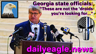 """Georgia state officials: """"These are not the 'droids you're looking for..."""""""
