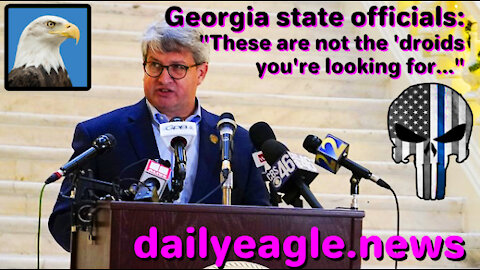 "Georgia state officials: ""These are not the 'droids you're looking for..."""