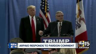 President Trump: 'Seriously considering' pardoning former Sheriff Joe Arpaio - Video