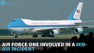 Air Force One Involved In A Mid-Air Incident - Video