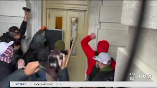 Trump supporter among those who stormed US Capitol speaks out