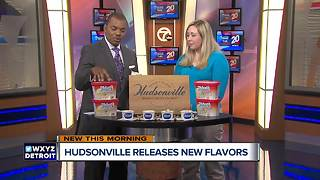 Hudsonville Ice Cream releases new flavors for the Fall - Video