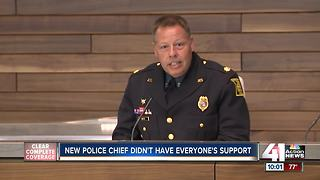 New police chief didn't have everyone's support - Video