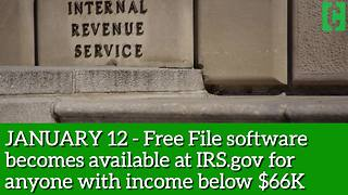 Mark your calendar: Key 2018 tax dates to know! - Video