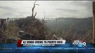 Arizona utility sending crews to Puerto Rico - Video