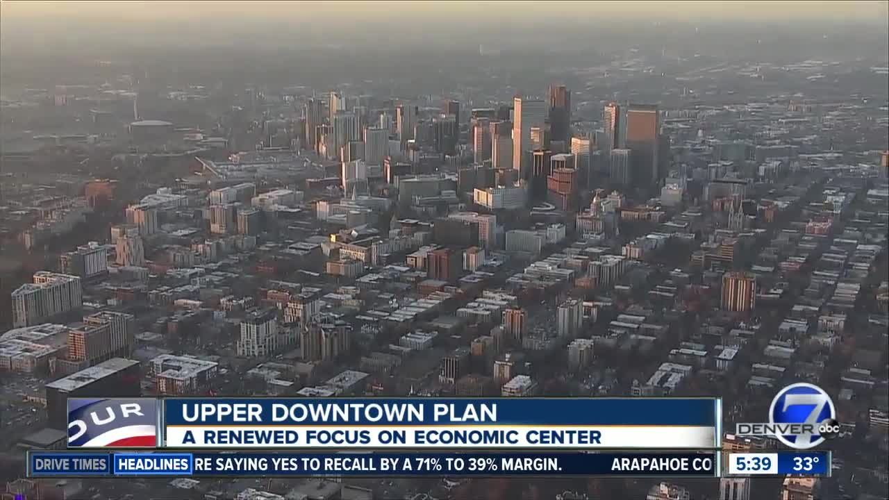 Plan being unveiled for Denver's Upper Downtown