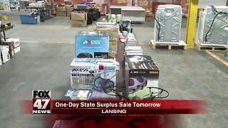 State surplus store open Saturday, sells confiscated items
