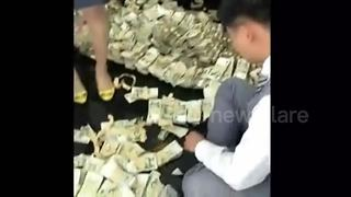 Woman pays for 25-thousand dollar car in cash - Video