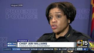 Violence involving officers at all-time high in Phoenix