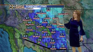 Cold night ahead across the Valley - Video