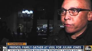 Family, friends remember Julian Jones - Video