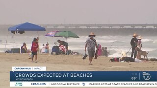 Big crowds expected at San Diego beaches -- will rules be followed?