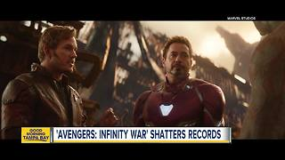 Avengers: Infinity War earns record $250 million - Video