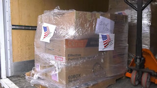 U.S. Army Garrison Italy delivers medical supplies to Italian hospitals