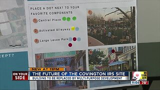 Covington presents options for former IRS site