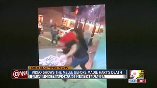 Video shows fight before Madie Hart's death - Video