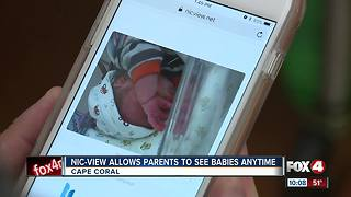 Nic-View Allolws Parents to See Babies Anytime - Video