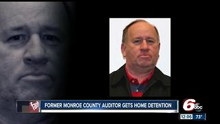 Ex-county auditor gets home detention - Video